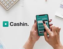 Cashin. App UX/UI Design | iOS, Android