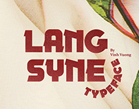 LANG SYNE Typeface