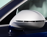 Navarra Blue Audi exclusive RS 7 Interior Photoshoot