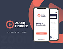 Zoom Remote - Logo Design