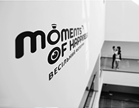 [logo] moments of happiness. wedding photographer
