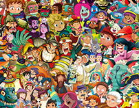 Some characters 2013-2017