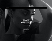 Pinot Meunier® Fashion E-commerce