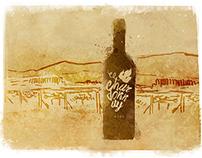 Wine label - Tikveš concept design
