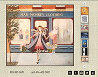 New website for Frances Clancy Design