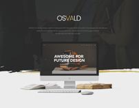 OSVALD - Multi-Purpose PSD Template