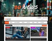 BDNEWS -Newspaper Website Template - Free PSD-Web UI/UX