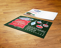 Print Design | Wholehearted Plumbing Holiday Postcard