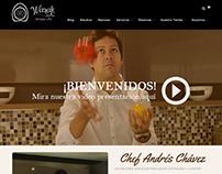 Waxak Gastronomy Website