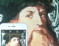 leonardo da vinci 's selfie