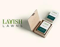 Lavish Lawns Logo, Website & Collateral