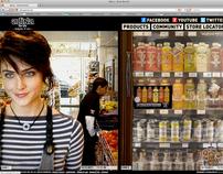 Adina Beverages Branding