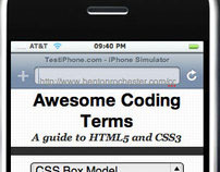 HTML/CSS Code Terms