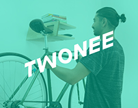 Branding and web design for Twonee