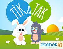 Tik & Tak ebebek Eğitici Animasyon