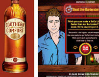 Southern Comfort 'Beat the Bartender' Facebook Game