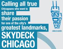 Skydeck Chicago Ambassador Facebook Campaign