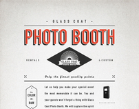 Glass Coat Photo Booth Print Ad