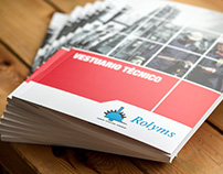 Rolyms Catalogue. Editorial Design Project.