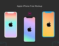 Enjoy Free Apple iPhone X Mockup's