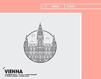 Landmarks | line art