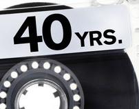 Dans 40th Birthday E-Vite