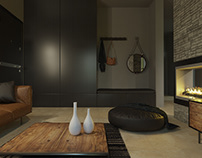 projet : habitation / villa corona-render