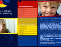 Website Zorgbureau De Puzzel