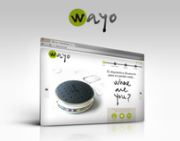 Wayo, Where Are You - Web Site