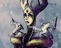 Snow Queen - Character design