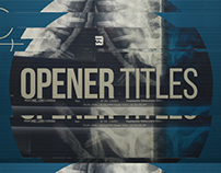 Glitch Opener Titles