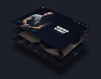 TATTOO ARTIST PORTFOLIO // Webdesign