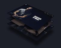 TATTOO ARTIST PORTFOLIO // Webdesign