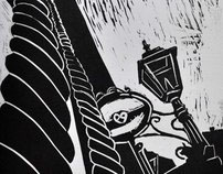 Linoleum Carvings & Printings