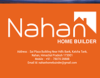 Flyers Design for Nahan Home Builder