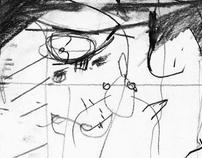Boy Charlton Pool sketch