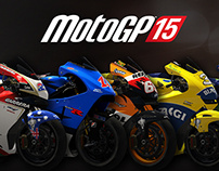 MotoGP15 - 2D/UI Graphic