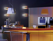 Modern kitchen 3d