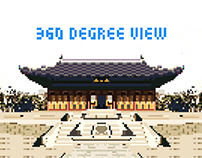 Pixel-art (360-Degree Camera view)