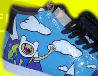 Adventure Time Nike Blazers