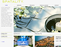 Spatality corporate website