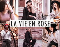 Free La Vie En Rose Mobile & Desktop Lightroom Preset