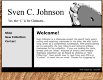 Sven C. Johnson Website