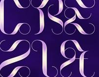 LUCREZIA - decorative font