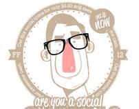 Social media Icons - FONT!