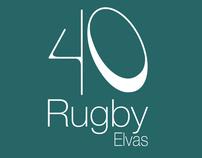 40 Rugby Elvas - Logo