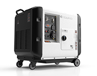 Generator | 3D Render Visualization