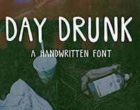 Day Drunk: A Handwritten Font