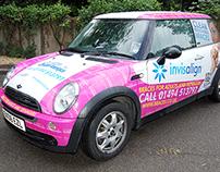 Octagon Orthodontics - Pink Vehicle Wrap