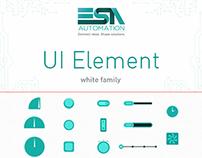 UI Element #white - ESA